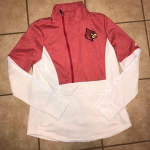 Louisville Cardinals Adidas pullover